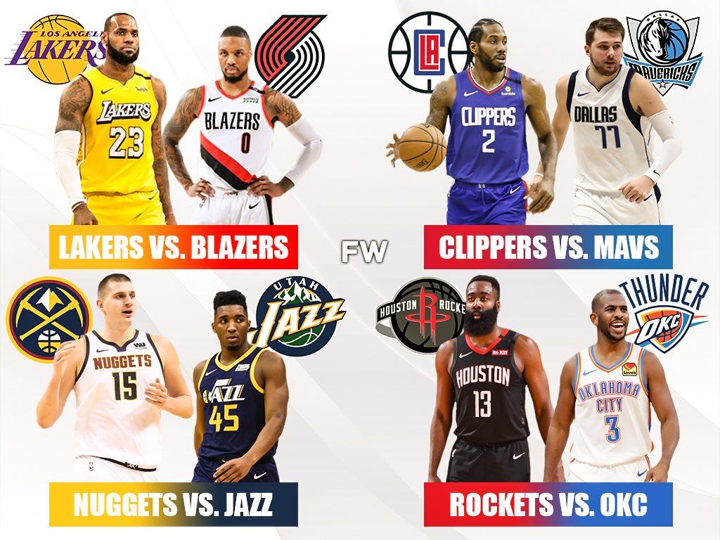 Conferência Oeste NBA